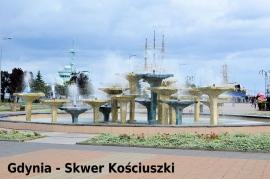 Gdynia - Skwer Kościuszki (ok.13 km od Hotelu) - Hotel Faltom