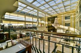 Widok na hol z Restauracji Zielonej  - Hotel Faltom