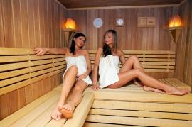 Sauna sucha z codziennymi seansami zapachowymi - Hotel Faltom