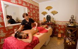 Masaż Ayurveda - Abyanga- indyjski masaż relaksacyjny całego ciała z peelingiem - Hotel Faltom