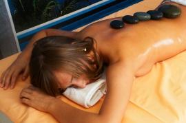 Masaż ciepłymi kamieniami - Hotel Faltom
