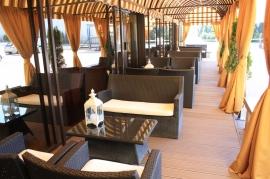 Taras letni przy Kawiarni - Hotel Faltom