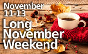 November Long Weekend