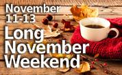 November Long Weekend
